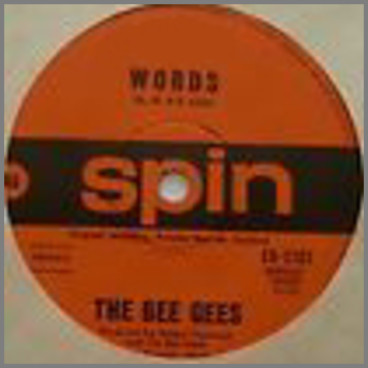 Words B/W Sinking Ships by The Bee Gees