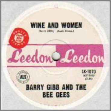 Wine And Women B/W Follow The Wind by The Bee Gees