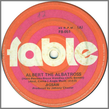 Albert The Albatross by Jigsaw