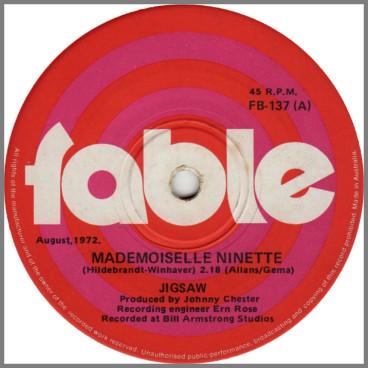 Mademoiselle Ninette B/W Mystery Man by Jigsaw