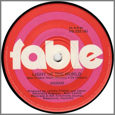 Light Up The World B/W Take Me Daddy by Jigsaw