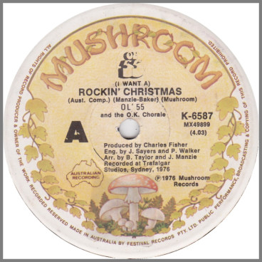 (I Want A) Rockin' Christmas by Ol '55