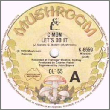 C'Mon Let's Do It B/W Teenager In Love by Ol '55