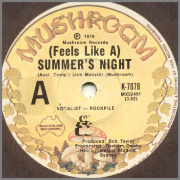 (Feels Like A) Summer's Night by Ol '55