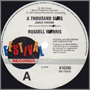 A Thousand Suns B/W This Bird Has Flown by Russell Morris