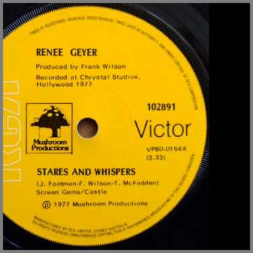 Stares And Whispers by Renee Geyer