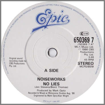 No Lies by Noiseworks