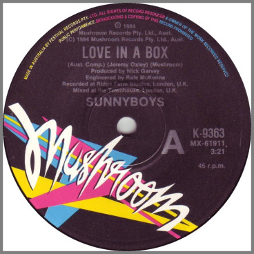 Love In A Box by Sunnyboys