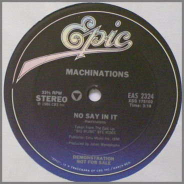 No Say In It by Machinations