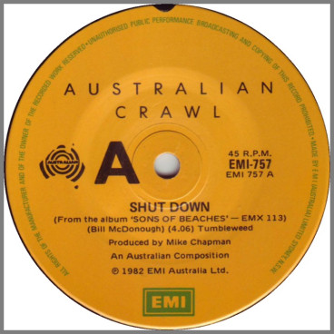 Shut Down by Australian Crawl