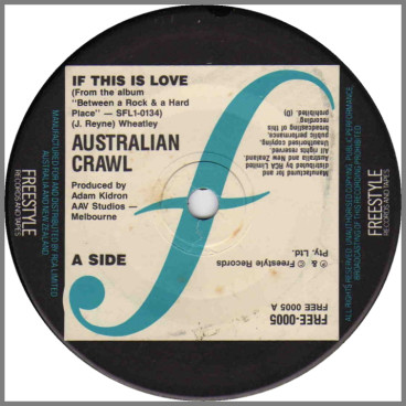 If This Is Love by Australian Crawl
