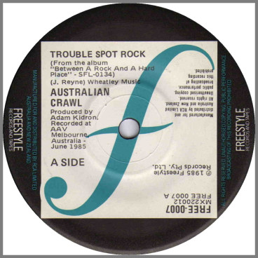 Trouble Spot Rock by Australian Crawl