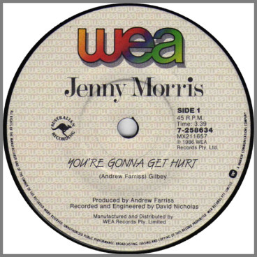 You're Gonna Get Hurt by Jenny Morris