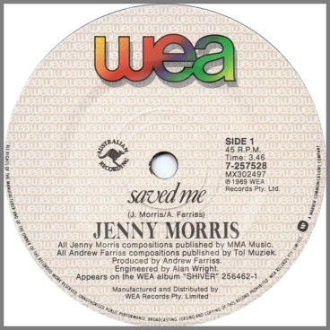 Saved Me by Jenny Morris