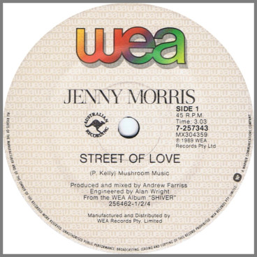 Street Of Love by Jenny Morris