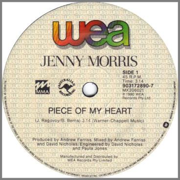 Piece Of My Heart by Jenny Morris