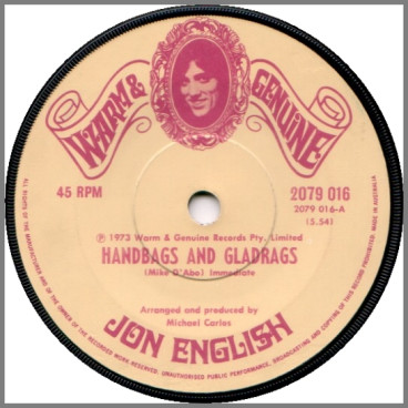 Handbags and Gladrags by Jon English