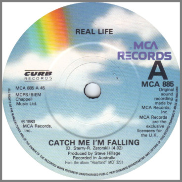 Catch Me I'm Falling by Real Life