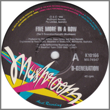 Five More In A Row by D-Generation