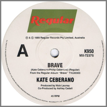Brave/Young Boys Are My Weakness by Kate Ceberano
