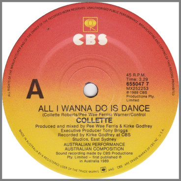 All I Wanna Do Is Dance by Collette Roberts