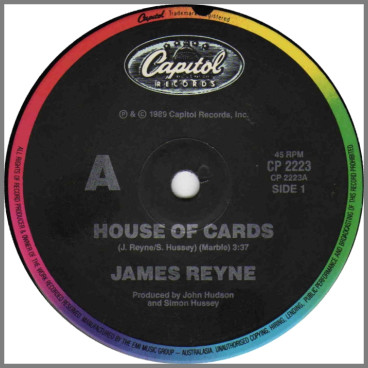 House Of Cards by James Reyne