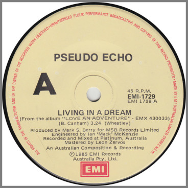 Living In A Dream by Pseudo Echo