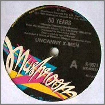 50 Years by Uncanny X Men