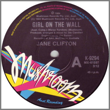 Girl On The Wall by Jane Clifton