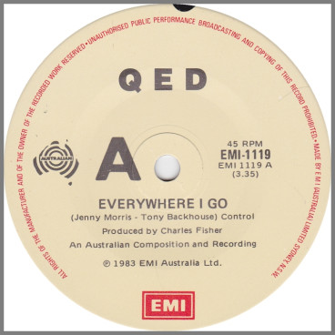 Everywhere I Go by Q.E.D.