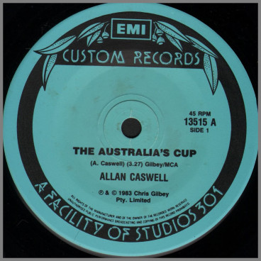 The Australia's Cup by Allan Caswell