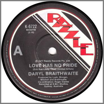Love Has No Pride by Daryl Braithwaite