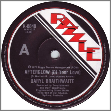 Afterglow by Daryl Braithwaite