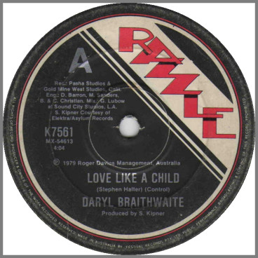 Love Like a Child by Daryl Braithwaite