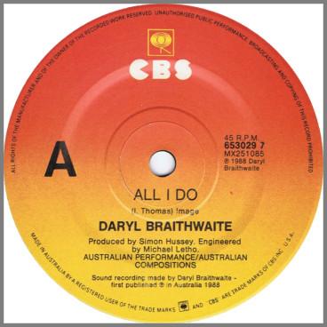 All I Do by Daryl Braithwaite