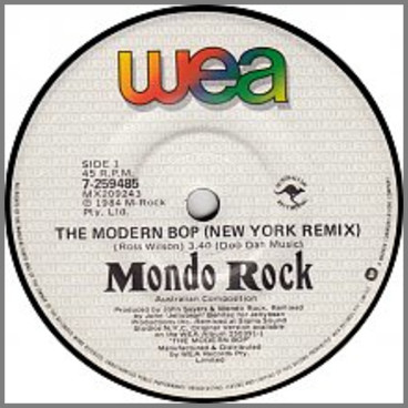The Modern Bop by Mondo Rock