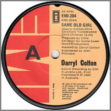 Same Old Girl by Darryl Cotton