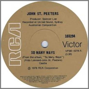 So Many Ways by John St Peeters