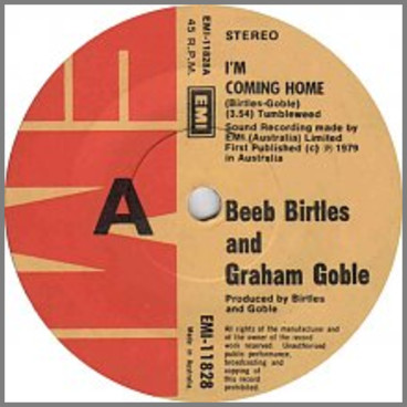 I'm Coming Home by Beeb Birtles and Graeham Goble