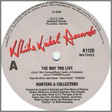 The Way You Live by Hunters & Collectors