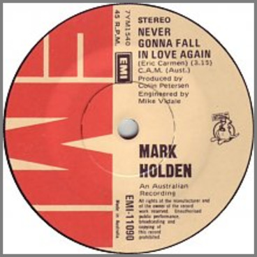 Never Gonna Gall In Love Again by Mark Holden