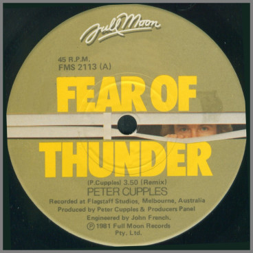 Fear Of Thunder by Peter Cupples