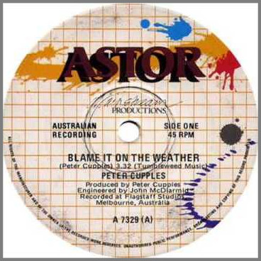 Blame It On The Weather by Peter Cupples