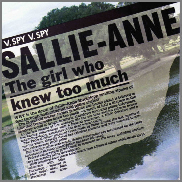 Sallie-Anne B/W Use Your Head by Spy Vs Spy