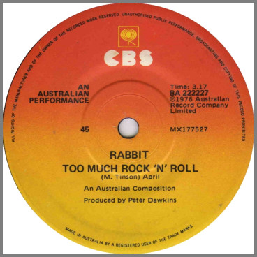 Too Much Rock 'N' Roll by Rabbit