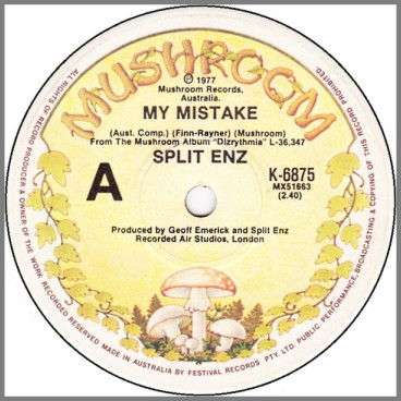 My Mistake by Split Enz