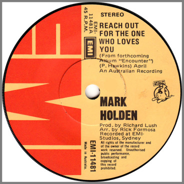 Reach Out For The One Who Loves You by Mark Holden
