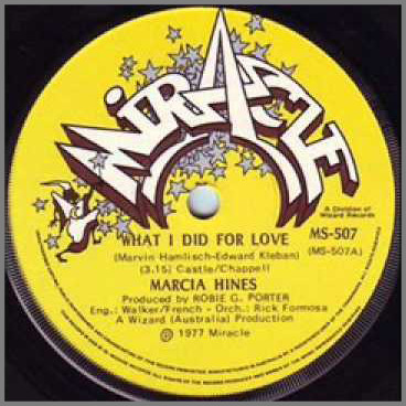 What I Did For Love by Marcia Hines