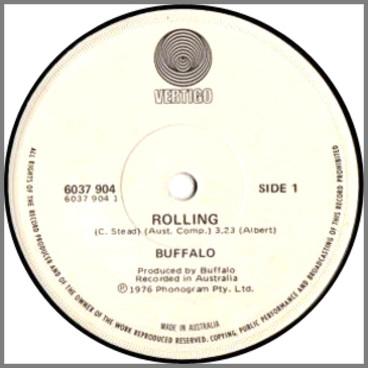 Rollin' B/W Hotel Ladies by Buffalo