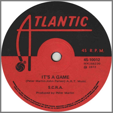 It's A Game B/W Love Is A Lonely Day by Southern Contemporary Rock Assembly (SCRA)